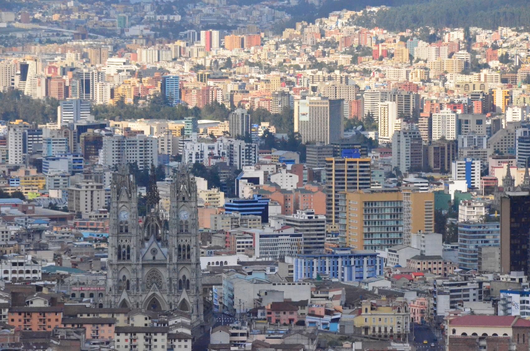 Quito w taksówce