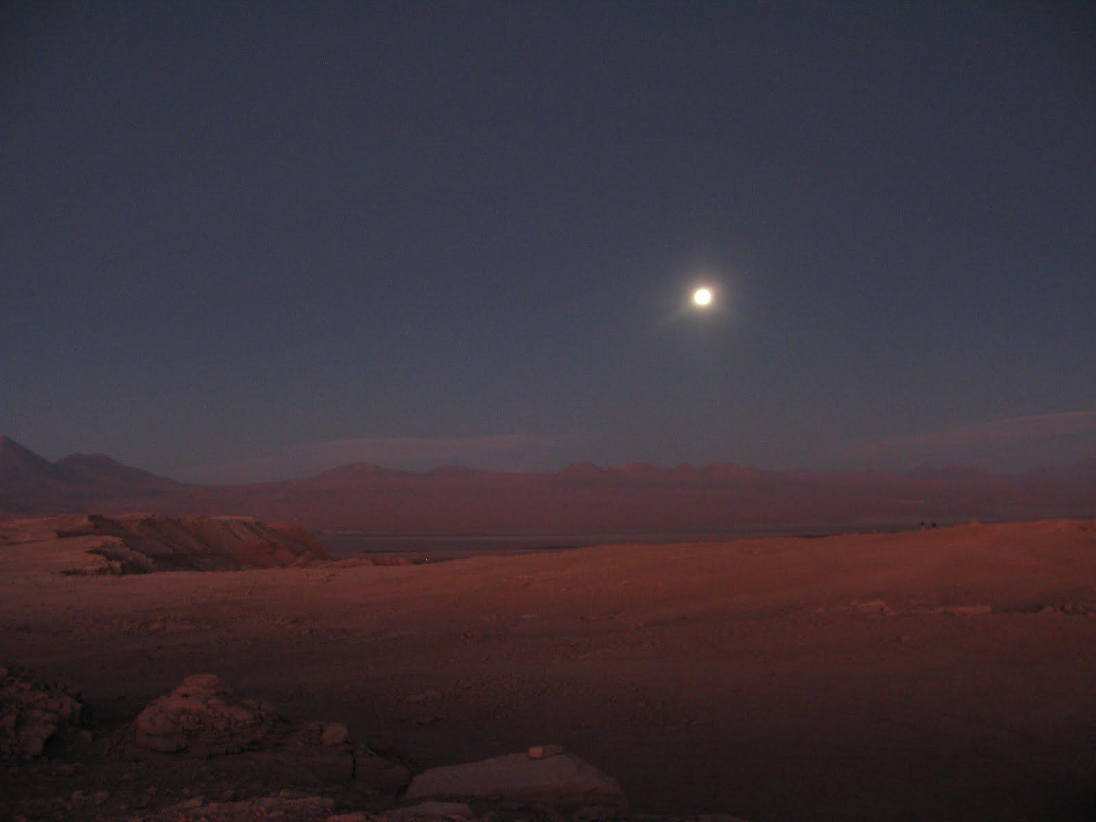 Atacama, dzień 1 – urodziny w Dolinie Księżycowej