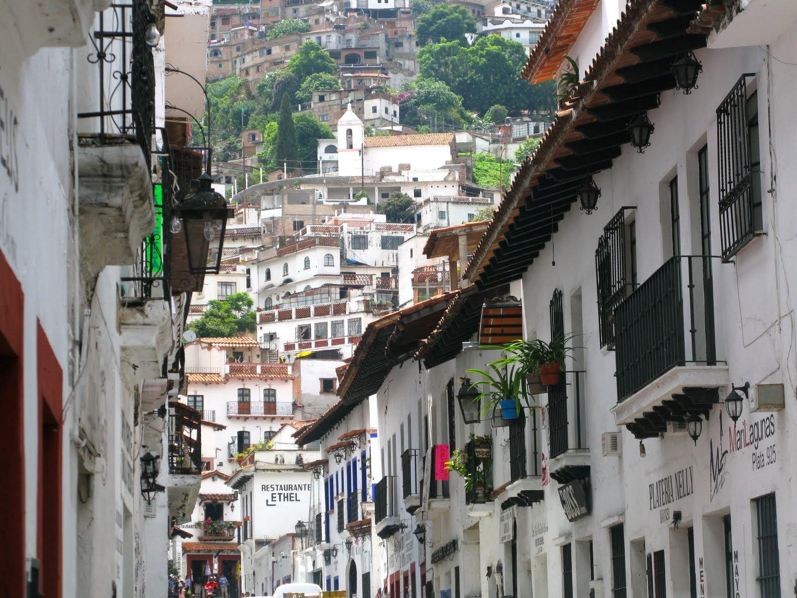 Popoludnie w srebrnym Taxco