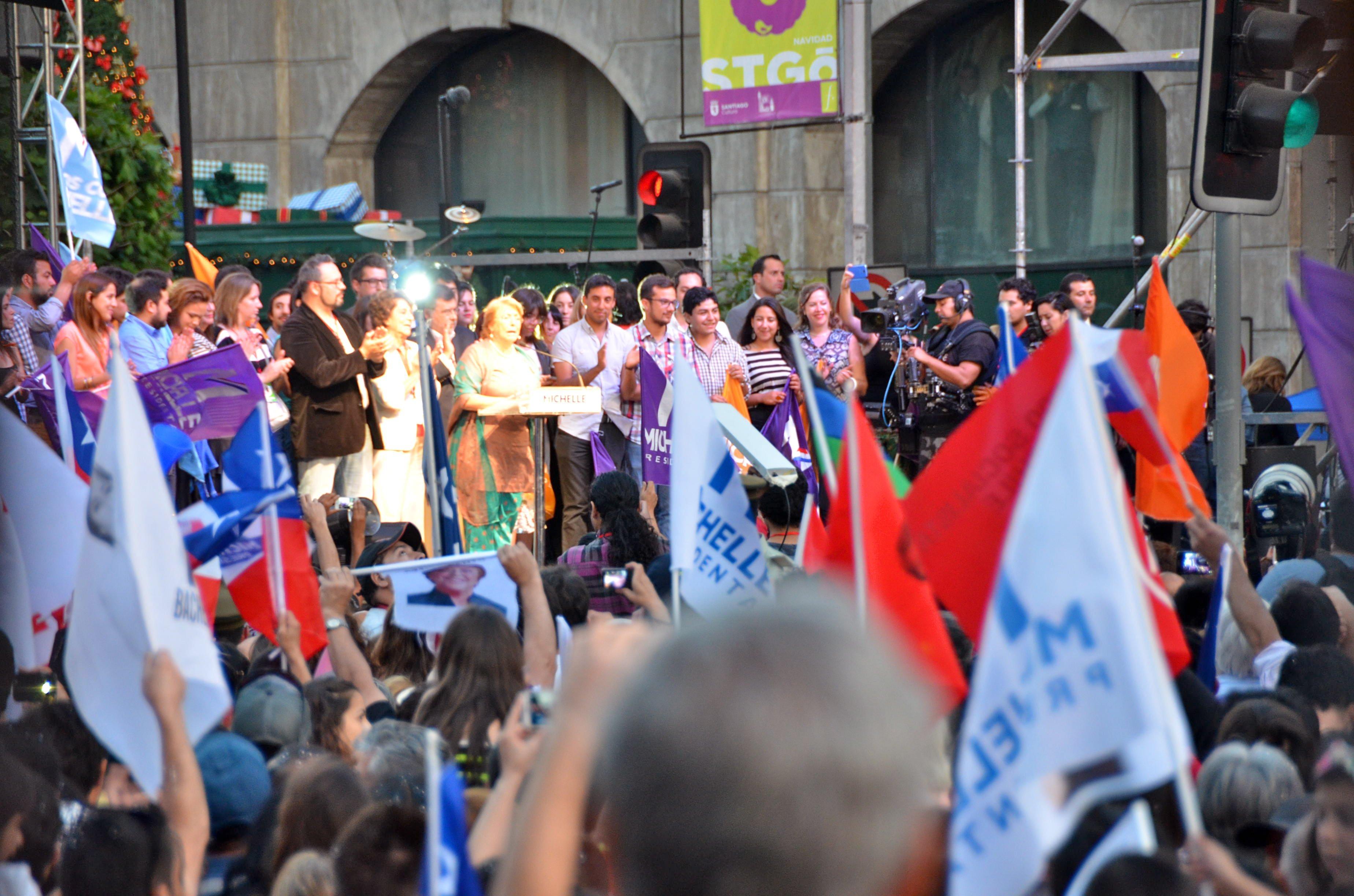 Chile głosuje, ja pracuje [mini foto relacja]