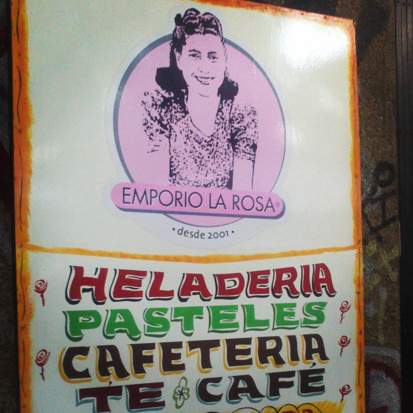Na lody w Santiago? Emporio La Rosa