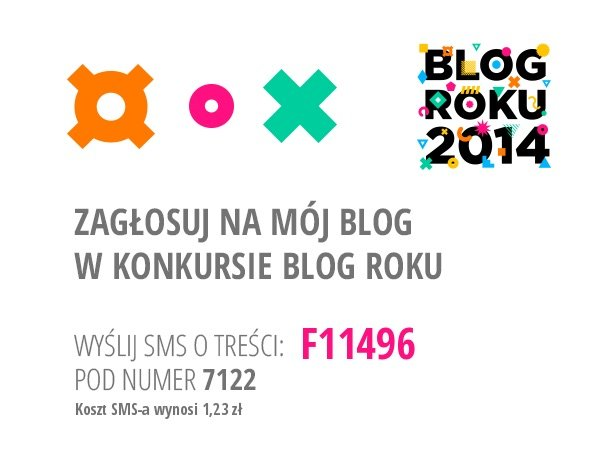 Tresvodka w konkursie Blog Roku 2014