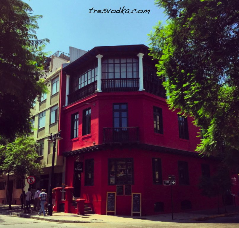 Co robić w Santiago de Chile: Dzielnica Lastarria