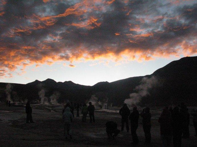 Atacama, dzień 2 – gejzery i lamy