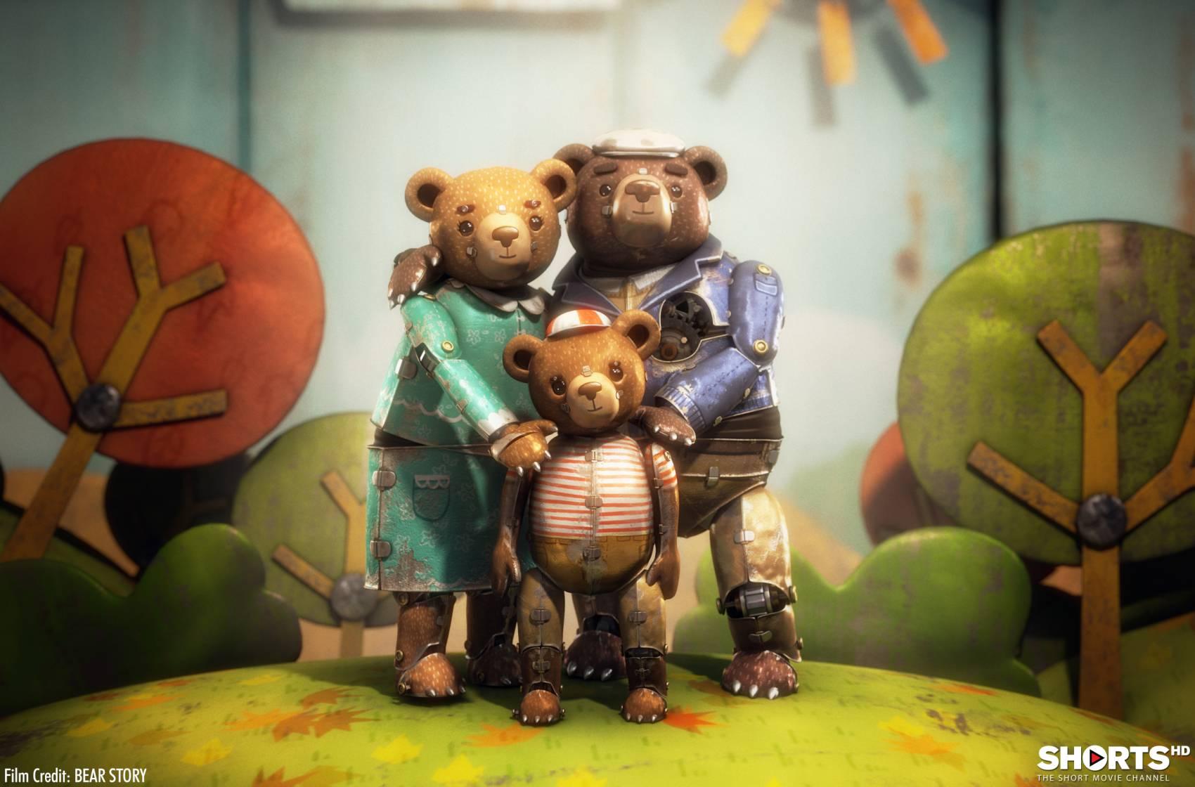 """Oscar dla Chile! Zobacz krótkometraż """"Bear Story"""""""