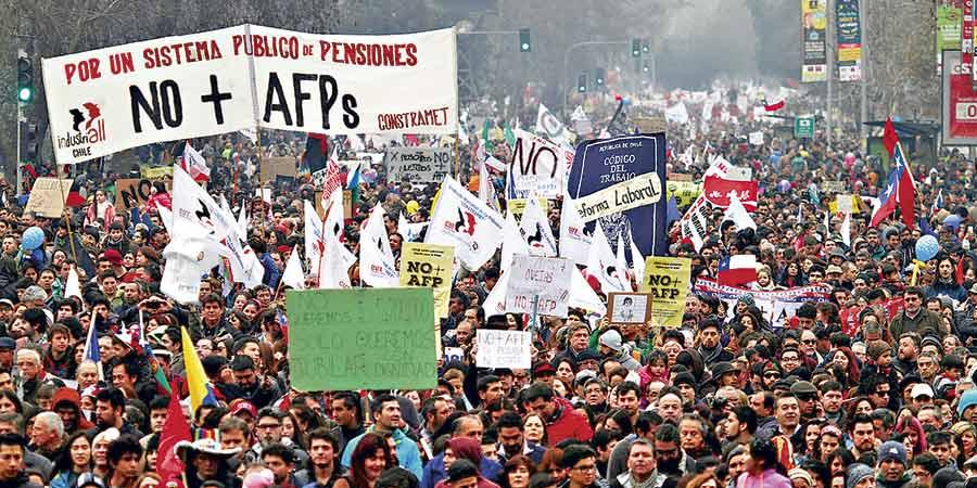 Chile walczy o godne emerytury
