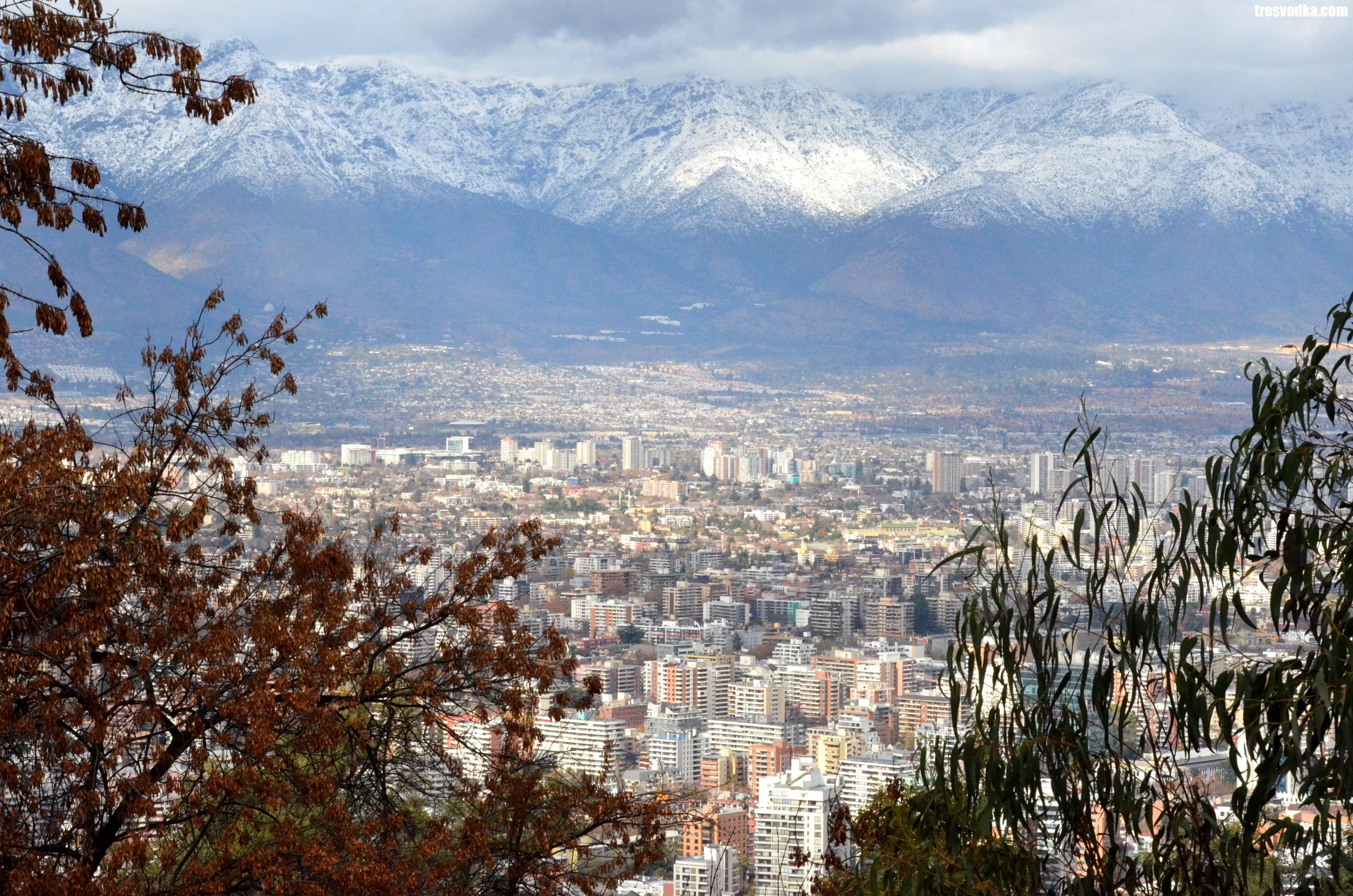 Wzgórze San Cristobal, Santiago de Chile [GALERIA]