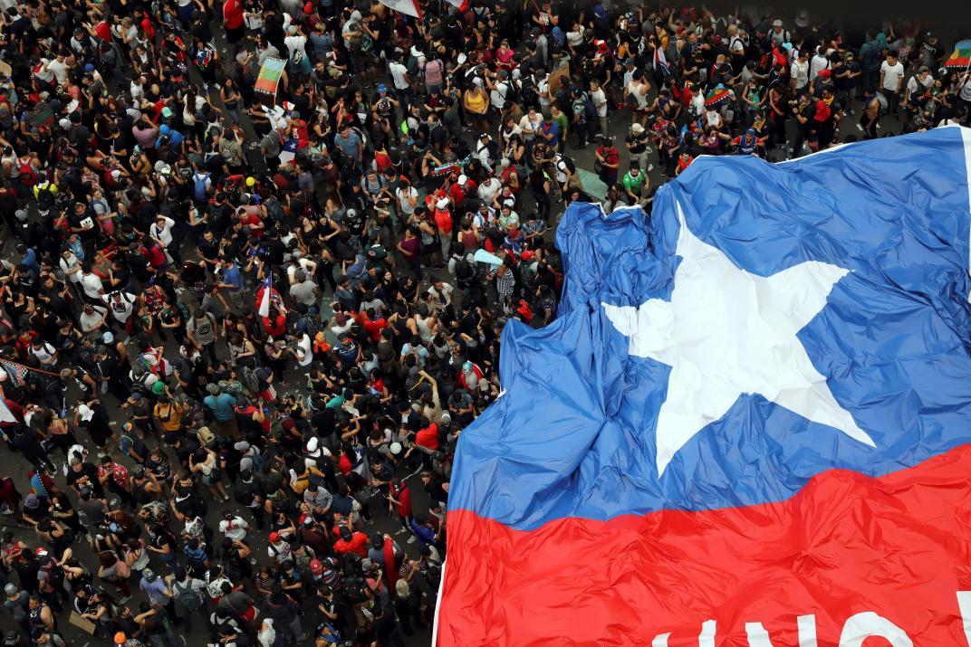 """""""To nie 30 pesos, to 30 lat"""" – podsumowanie miesiąca protestów w Chile"""